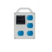 ROZDZIELNICA R-BOX 4x230V + ZABEZPIECZENIE