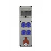 ROZDZIELNIA R-BOX SLIM 6S 1x32/5,4x230V+ZABEZPIECZ